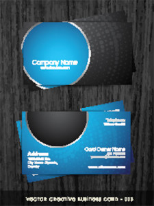 What Colour Should Be On Your Business Card Dark Horse Print Design