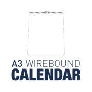 A3 Wirebound Calendar