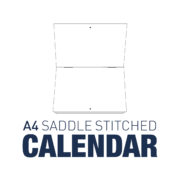 A4 Saddle Stitched Calendar