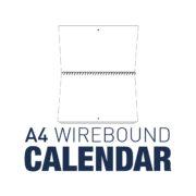 A4 Wirebound Calendar