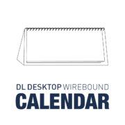 DL Desktop Wirebound Calendar