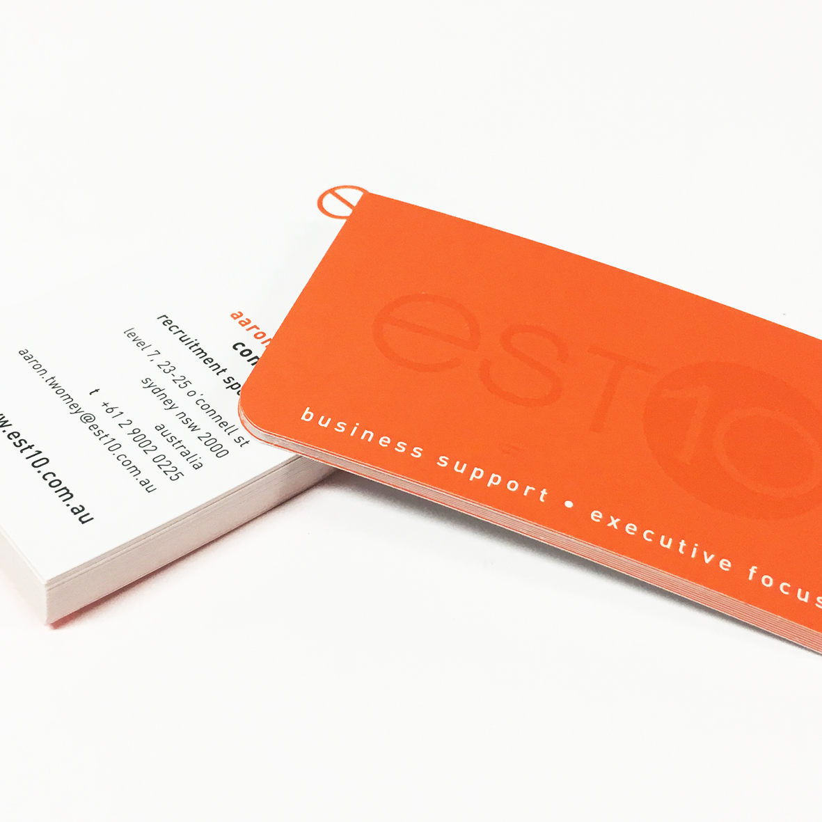 Spot colour business card printing dark horse print design spot colour product images reheart Gallery