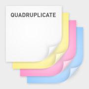 quadruplicate ncr