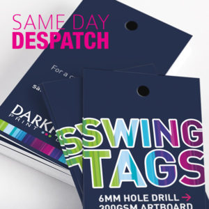 Same Day Despatch Swing Tags