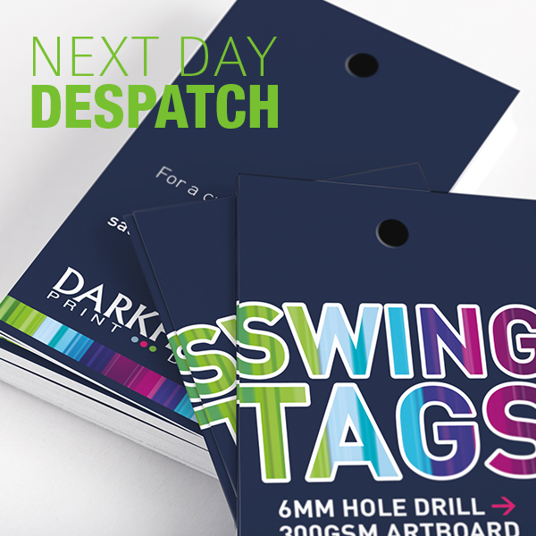 Next Day Despatch Swing Tags