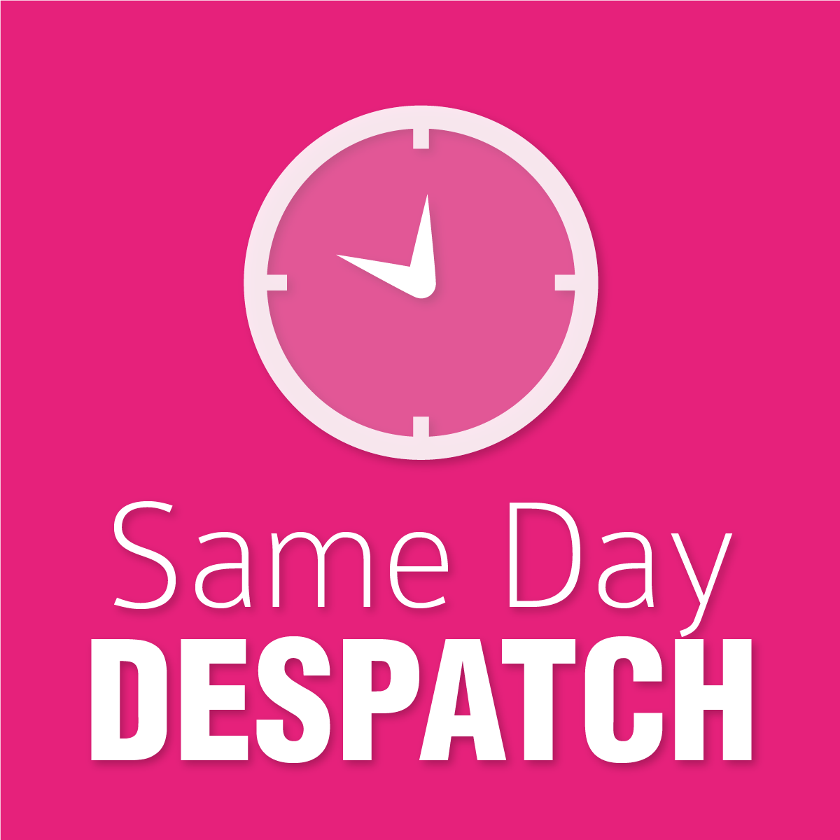 Same Day Despatch
